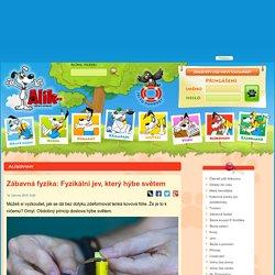 Alik.cz, Internet pro děti: Alíkoviny