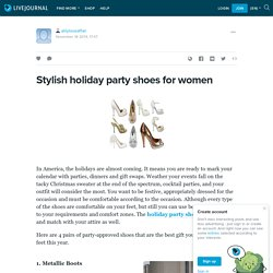 Stylish holiday party shoes for women: alilyloveaffair — LiveJournal