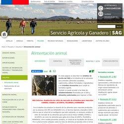 sag_gob_cl – Dossier: Alimentación animal (comportant toute la réglementation chilienne).