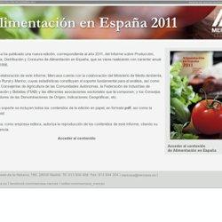 ALIMENTACIÓN EN ESPAÑA 2011 - Mercasa