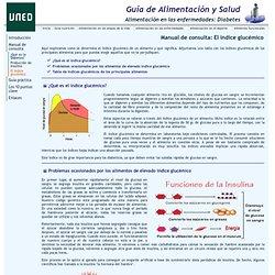 Guía de Alimentación y Salud UNED: Alimentación en la diabetes > Manual de consulta: El índice glucémico