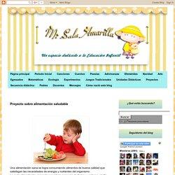 Proyecto: Los alimentos - Mi Sala Amarilla