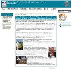 DRAAF HAUTS DE FRANCE 19/10/17 Premier Projet Alimentaire Territorial (PAT) labellisé en région Hauts-de-France : le PAT de la Communauté d'Agglomération du Douaisis (CAD)