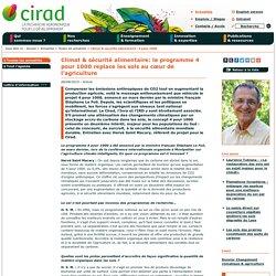 Climat & sécurité alimentaire: le programme 4 pour 1000 replace les sols au cœur de l'agriculture