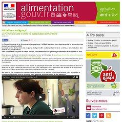 ALIMENTATION_GOUV_FR 22/06/12 La Gironde lutte contre le gaspillage alimentaire