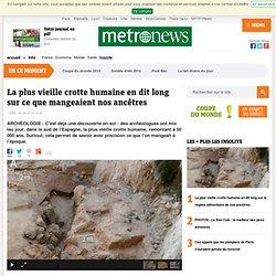La plus vieille crotte humaine en dit long sur le régime alimentaire de nos ancêtres
