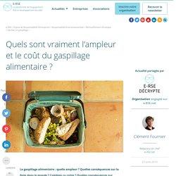 e-rse : Gaspillage alimentaire : quel coût, quelles conséquences ?