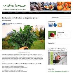 Les légumes verts feuillus, le cinquième groupe alimentaire