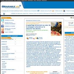 C DURABLE 16/11/10 Semaine Européenne de la Réduction des Déchets 2010 du 21 au 28 novembre 2010