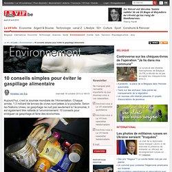 10 conseils simples pour éviter le gaspillage