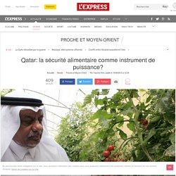 Qatar: la sécurité alimentaire comme instrument de puissance?