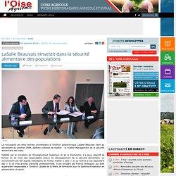 LaSalle Beauvais s'investit dans la sécurité alimentaire des populations - Actualité 09-10-2013