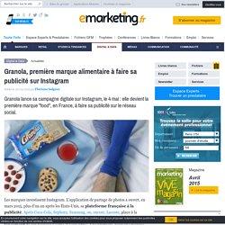 Granola, première marque alimentaire à faire sa publicité sur Instagram