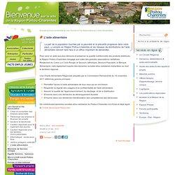 REGION POITOU CHARENTES 20/12/12 L'aide alimentaire (charte alimentaire régionale)