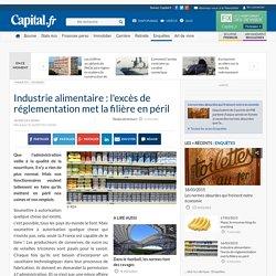 Industrie alimentaire : l'excès de réglementation met la filière en péril