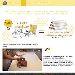 Apifilm® - Emballage alimentaire naturel, écologique, réutilisable, sans plastique, durable... zéro déchet