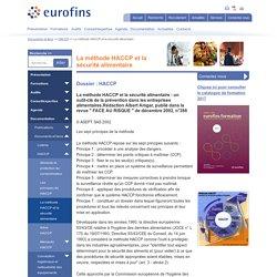 La méthode HACCP et la sécurité alimentaire - Eurofins Scientific
