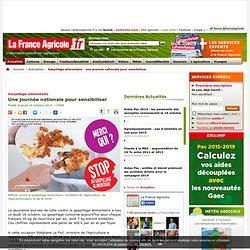 TERRE AGRICOLE 16/10/14 Gaspillage alimentaire - Une journée nationale pour sensibiliser