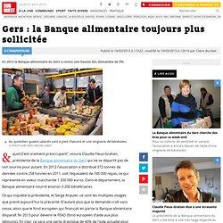 SUD OUEST 19/03/13 Gers : la Banque alimentaire toujours plus sollicitée