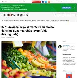 THE CONVERSTION 17/11/16 22 % de gaspillage alimentaire en moins dans les supermarchés (avec l'aide des big data)