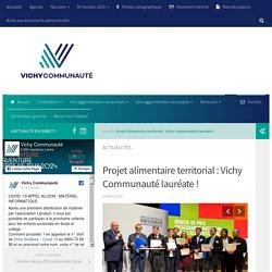 VICHY-COMMUNAUTE 06/03/18 Projet alimentaire territorial : Vichy Communauté lauréate !