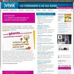 EXPO - La santé alimentaire au coeur d'une BD géante - Villeurbanne - Viva interactif