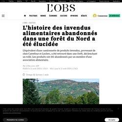 L'histoire des invendus alimentaires abandonnés dans une forêt du Nord a été élucidée Publié le 21 août 2020