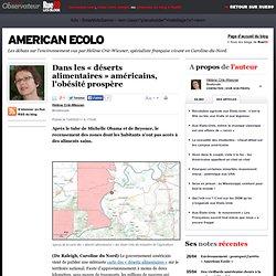 """Dans les """"déserts alimentaires"""" américains, l'obésité prospère"""