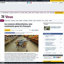 Les courses alimentaires, une contrainte pour les Français