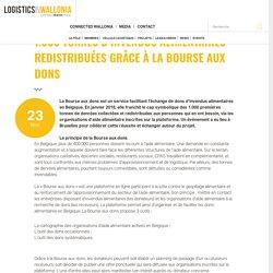 1.000 TONNES D'INVENDUS ALIMENTAIRES REDISTRIBUÉES GRÂCE À LA BOURSE AUX DONS