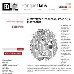 Alimentando los mecanismos de la innovación » Enrique Dans