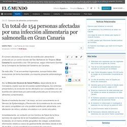 EL MUNDO 03/05/14 Un total de 154 personas afectadas por una infección alimentaria por salmonella en Gran Canaria