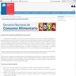 Encuesta Nacional de Consumo Alimentario 2014