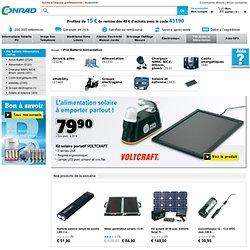 Pile Batterie Alimentation - Vente équipement et accessoires Pile Batterie Alimentation sur conrad.fr