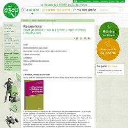 Réseau AMAP Ile-de-France : Ressources sur les amap, l'alimentation, l'agriculture