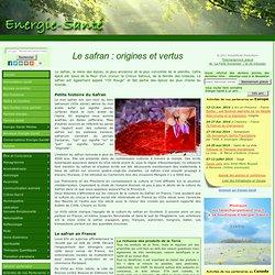 Le safran : origines et vertus