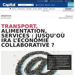 Transport, alimentation, services : jusqu'où ira l'économie collaborative