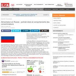 Alimentation en Russie : portrait-robot et... - Grande Distribution et consommation