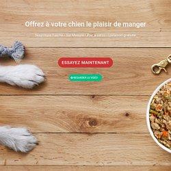 Dog Chef - Alimentation fraiche pour chien. Livrée chez vous.