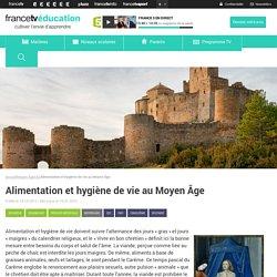 Alimentation et hygiène de vie au Moyen Âge