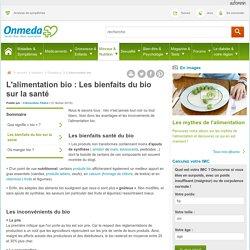 Alimentation bio : bienfaits et inconvénients