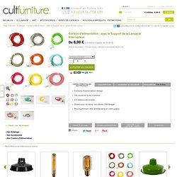 Cordon d'Alimentation - avec le Support de la Lampe et Interrupteur - au Cult Furniture Royaume Uni