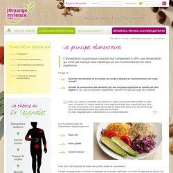 L'alimentation hypotoxique - Les principes
