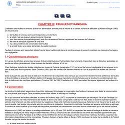 Utilisation des sous-produits de l'olivier en alimentation animale dans le bassin Méditerranéen