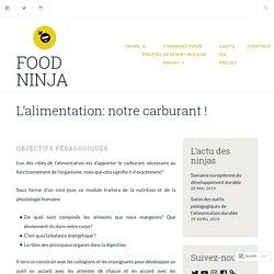 L'alimentation: notre carburant ! – Food Ninja