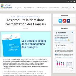YOGURT IN NUTRITION 14/05/18 Les produits laitiers dans l'alimentation des Français