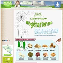 L'alimentation végétarienne : informations nutritionnelles