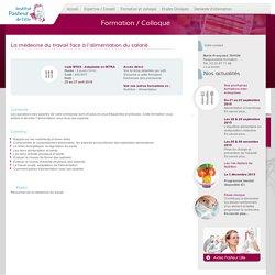 L'alimentation du salarié - Formation professionnelle - Institut Pasteur de Lille