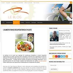 Cyclisme : l'alimentation de récupération après l'effort