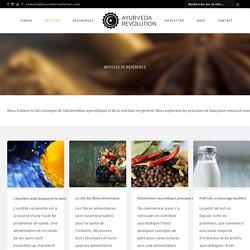 Alimentation - Ayurveda Revolution